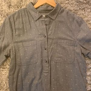 Sonoma Life + Style Long Sleeve Button Front